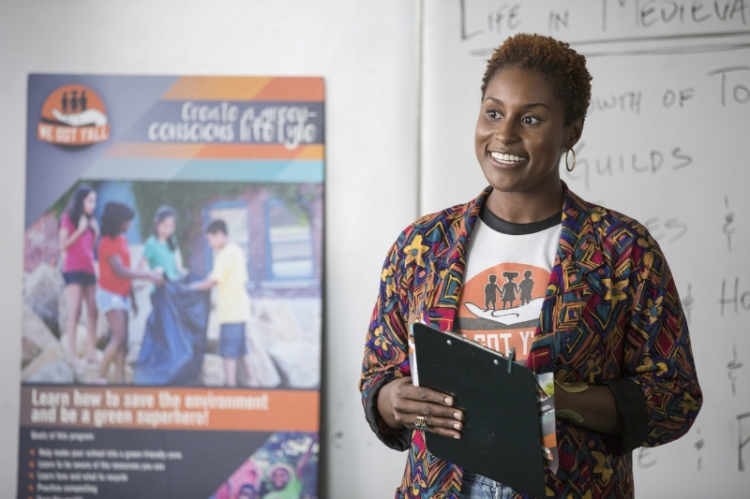 Issa Rae's INSECURE (PRNewsFoto/BronzeLens Film Festival)